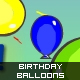 Birthday Balloons - ActiveDen Item for Sale