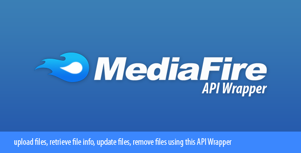 CodeCanyon MediaFire API Wrapper 2270263