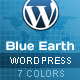Blue Earth Wordpress theme