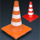 Set of Road Traffic Safety Cones - GraphicRiver Item for Sale