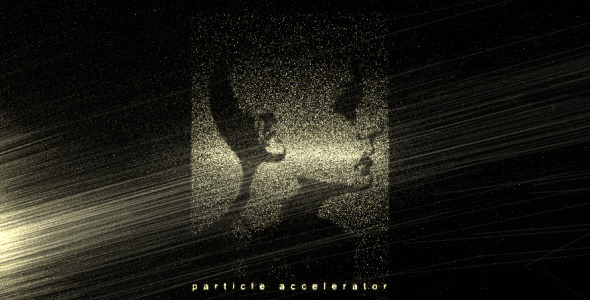After Effects Project - VideoHive Particle Accelerator 2273748
