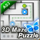 Premium 3D Maze Puzzle Game XML/AS3 - ActiveDen Item for Sale