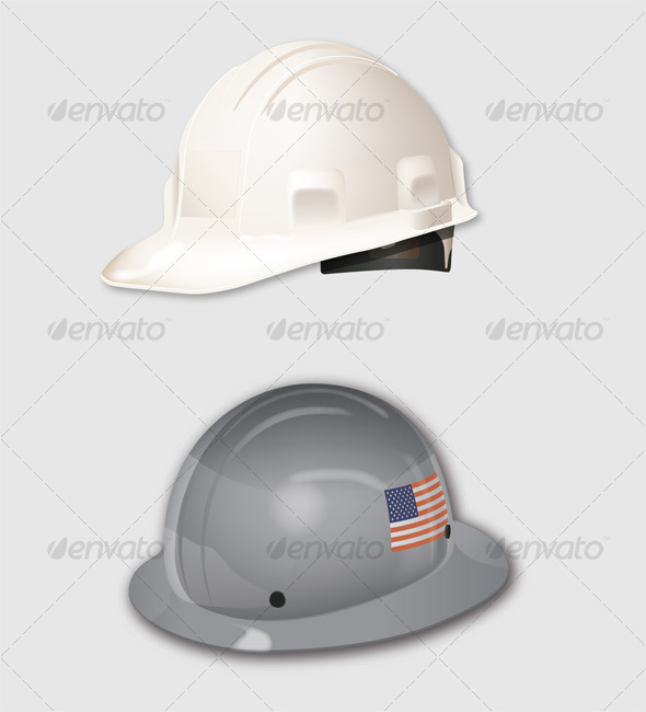 GraphicRiver Construction Hats 84730