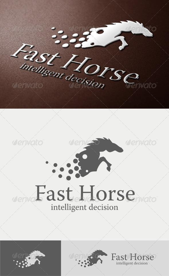 Fast Horse Logo - Animals Logo Templates