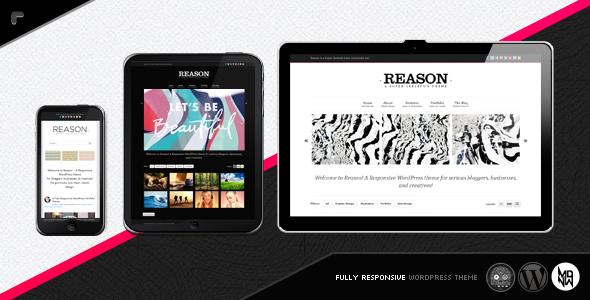 Reason WP: Smart, Responsive, Customizable