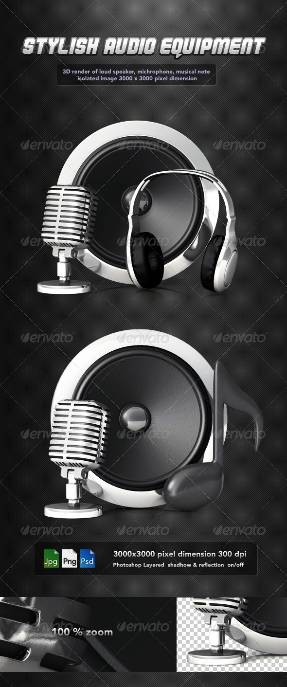 GraphicRiver Music Equipment 2274743