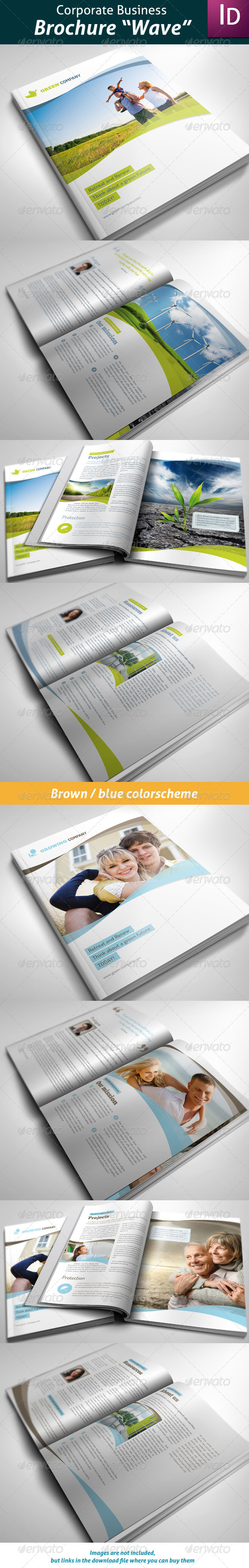 GraphicRiver Business Brochure Wave 2274884