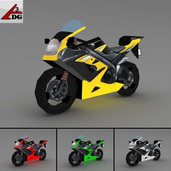 SUZUKI (LowPoly) - 3DOcean Item for Sale