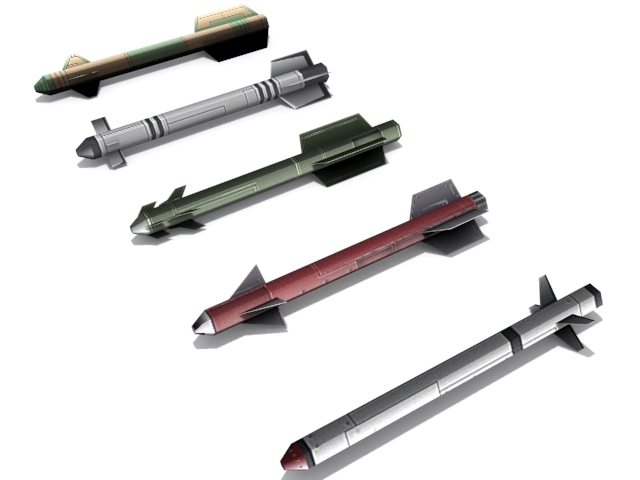 3DOcean Short Range Missiles 2276075