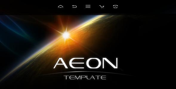 AEON Futuristic Template for Joomla!
