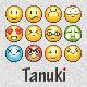 Tanuki Pixel Emoticons - GraphicRiver Item for Sale