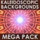Kaleidoscopic backgrounds Mega Pack - GraphicRiver Item for Sale