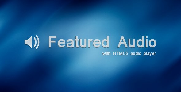 Featured Audio - CodeCanyon Item for Sale