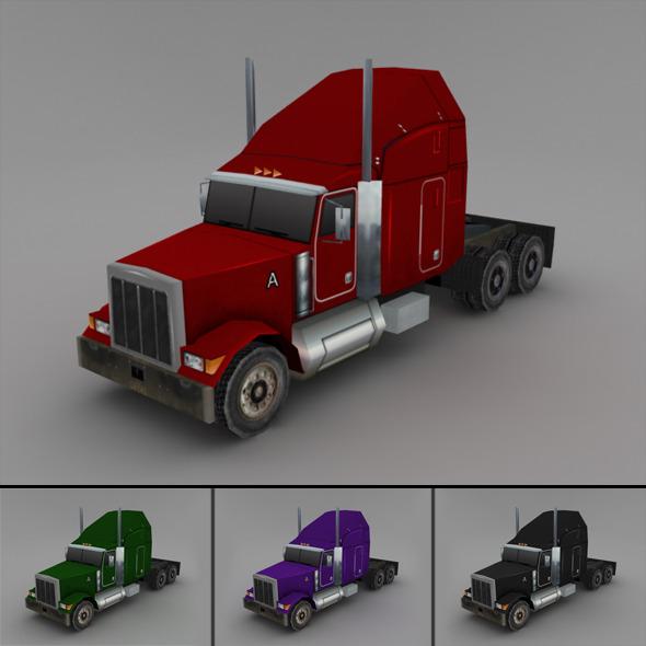 3DOcean Truck LowPoly 2278680