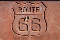 rusty route 66 sign - PhotoDune Item for Sale