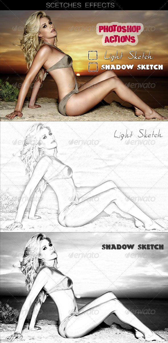 GraphicRiver Action Sketches Effects 258094