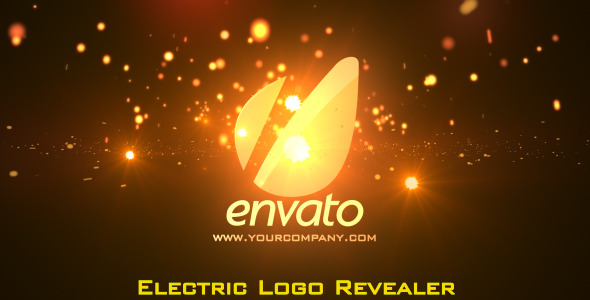 VideoHive Red Electric Cinematic Logo Revealer 2245318