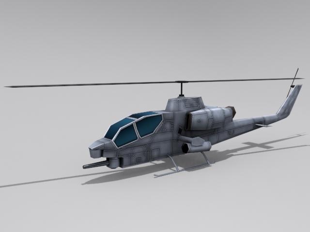3DOcean AH-1 Cobra 2279424