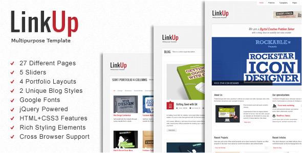 ThemeForest LinkUp Multipurpose HTML Template 2222718