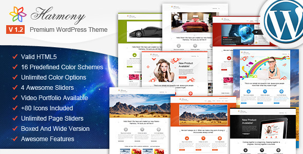 ThemeForest Harmony Multipurpose WordPress Theme 2024409