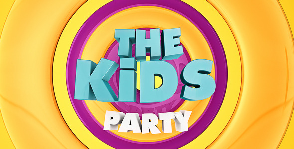 The Kids Party Cinema 4d Templates Videohive
