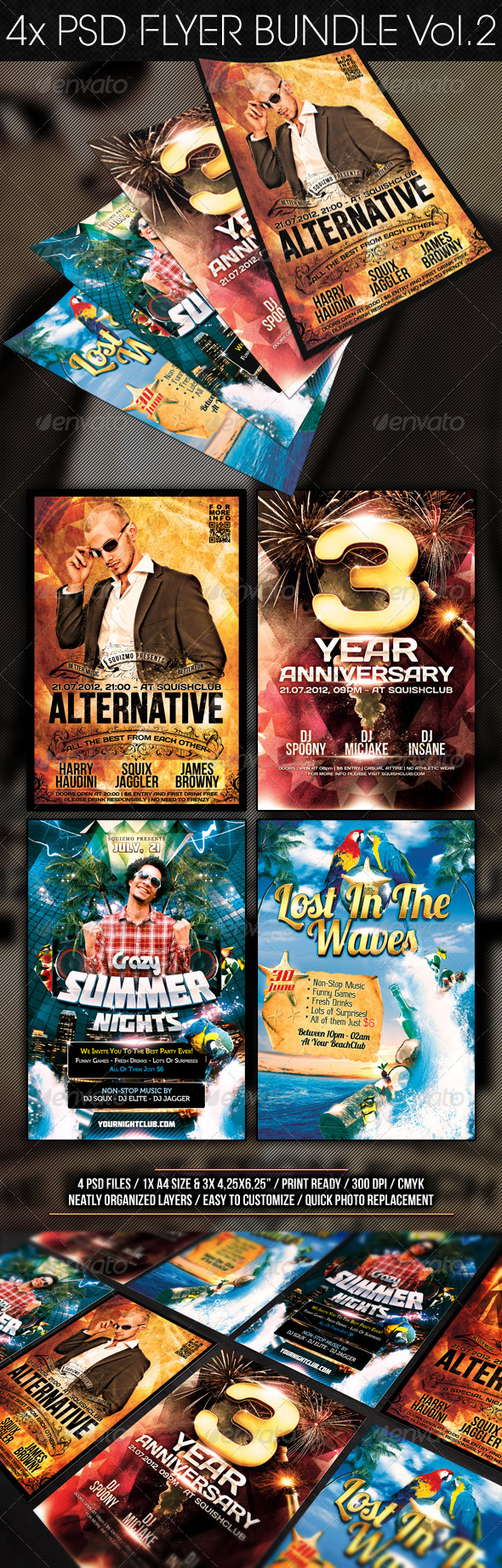GraphicRiver Flyer Bundle Vol.2 2280997