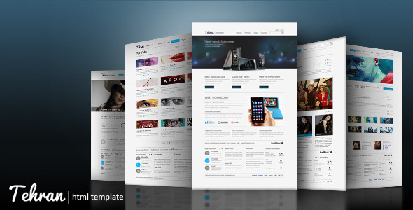 Tehran - Clean and Powerful HTML Template