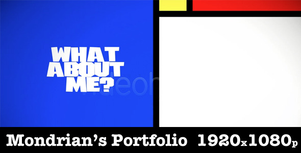 After Effects Project - VideoHive Mondrian's Portfolio 2283080