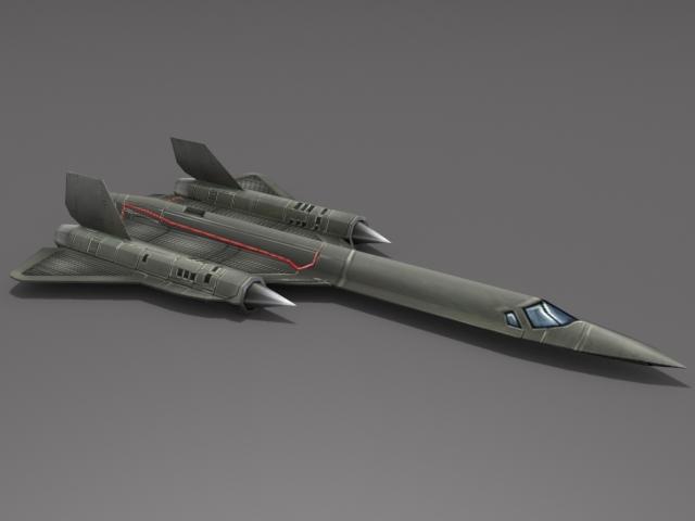 3DOcean SR-71 Blackbird 3D Models -  Vehicles  Air  Military 2283471