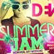 Summer Jam Beach Party Flyer - GraphicRiver Item for Sale