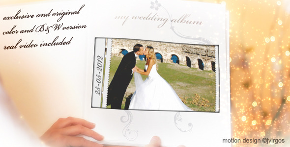 After Effects Project - VideoHive Wedding Album Love Memories 2284306