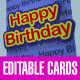 Pop-Out 3D Greetings Cards Template – 4 Designs - VideoHive Item for Sale