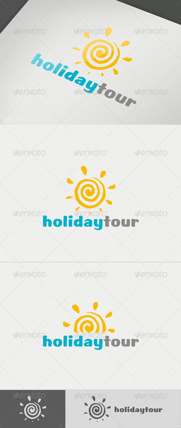 Holiday Tour Logo - Nature Logo Templates