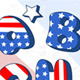 Patriotic Cartoon Font - GraphicRiver Item for Sale