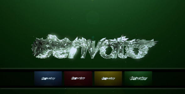 VideoHive Magic Crystal Logo Morph 2285637