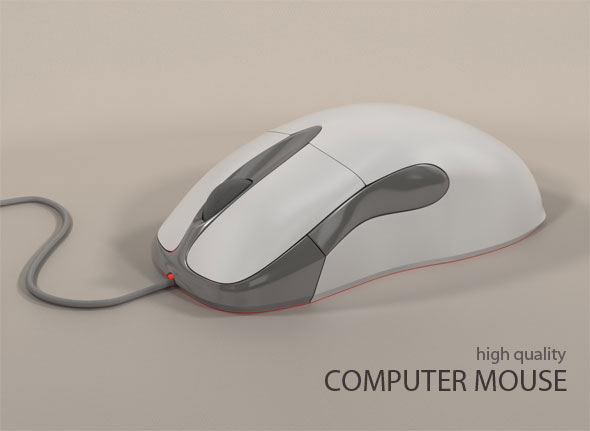 3DOcean Computer Mouse 84911