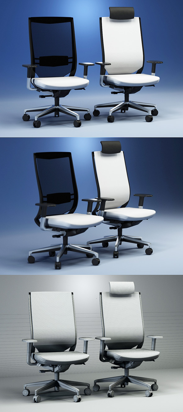3DOcean Quality 3dmodel of modern chairs Duera Kloeber 2287908