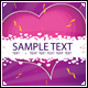 Valentine's day card - GraphicRiver Item for Sale