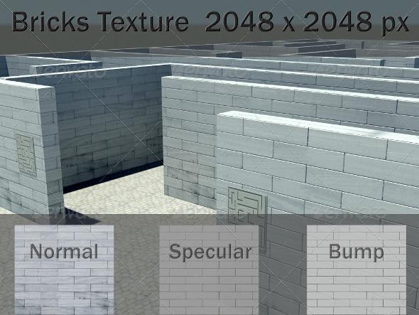 3DOcean Bricks Texture 2289260