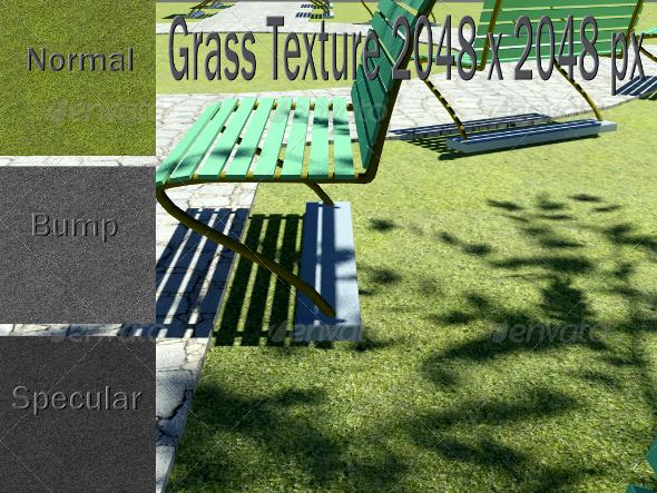 3DOcean Grass Texture CG Textures -  Ground 2289697