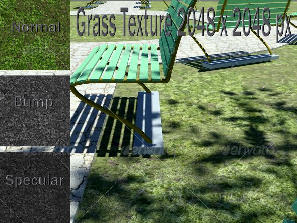 3DOcean Grass Texture 2289929