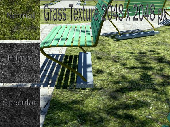 3DOcean Grass Texture 2289993