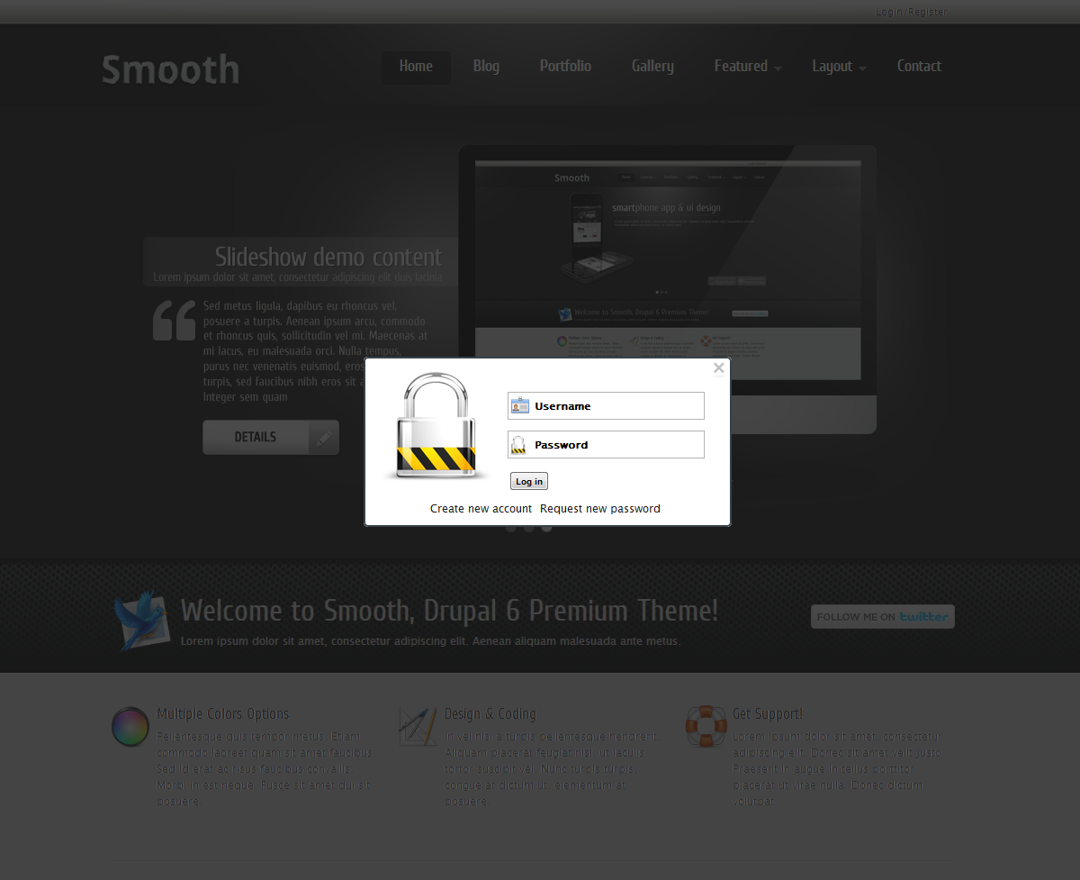 Smooth Drupal 6 Premium Theme