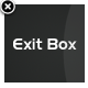 WordPress Exit Box