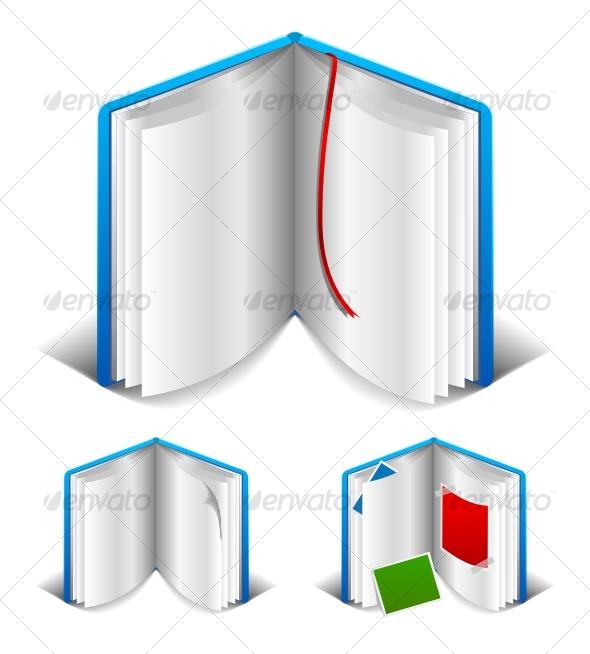 Open book - Decorative Symbols Decorative