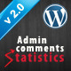 Admin comments statistics  - CodeCanyon Item for Sale