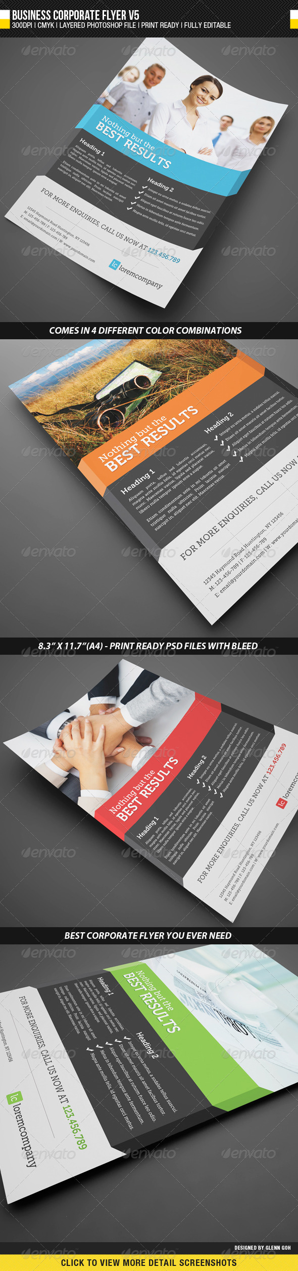 GraphicRiver Business Corporate Flyer V5 2291945