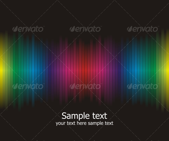 GraphicRiver Abstract rainbow colours background 85342