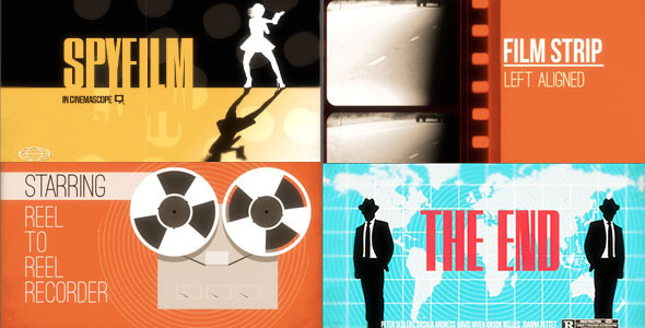 After Effects Project - VideoHive Spyfilm 2283372