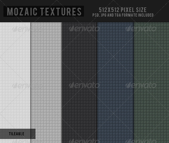 Mosaic Texture - 3DOcean Item for Sale